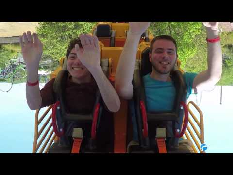El Diablo Off-ride & On-ride POV - Six Flags Great Adventure - 2015
