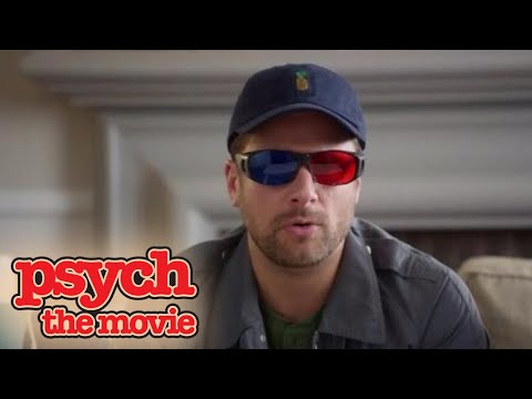 Psych: The Movie | Emergency-ish Announcement Broadcast
