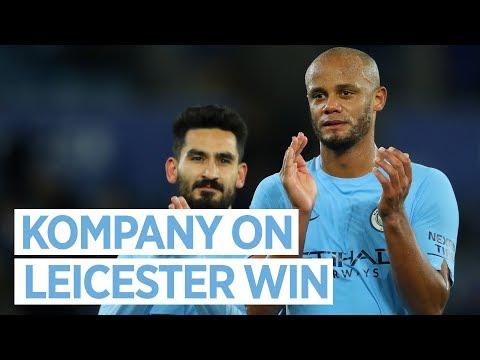 KOMPANY RETURNS | Leicester 0-2 Man City | Post Match Interview