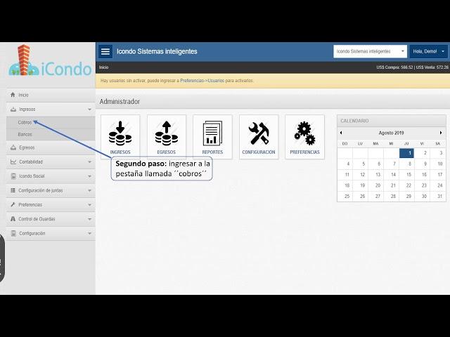 Como reenviar facturas individualmente - iCondo Administración de Condominios
