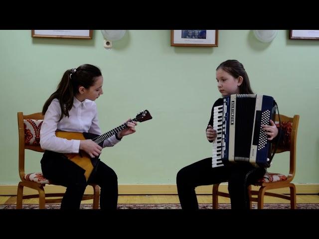 Маленькая балеринка. Композитор Б. Солохин. Исполняют: Юля Волк и Аня Свирская.