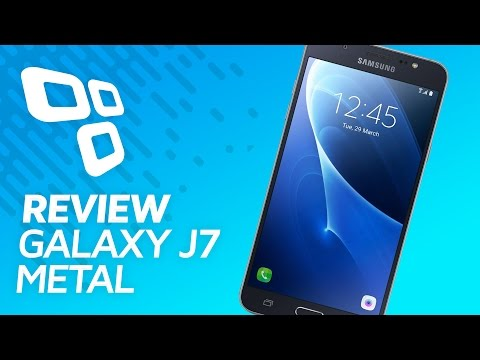 Samsung Galaxy J7 Metal - Review - TecMundo