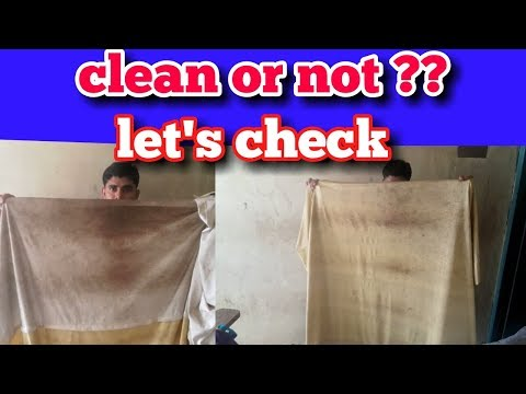 Curtains & bed shits cleaning  tips & prosses . (Hindi)
