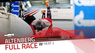 Altenberg | BMW IBSF World Cup 2017/2018 - Women's Skeleton Heat 2 | IBSF Official