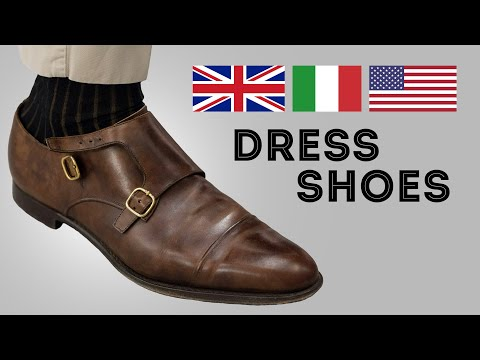 Italian Vs. American Vs. English Men's Dress Shoes & What Distinguishes Them - Gentleman's Gazette