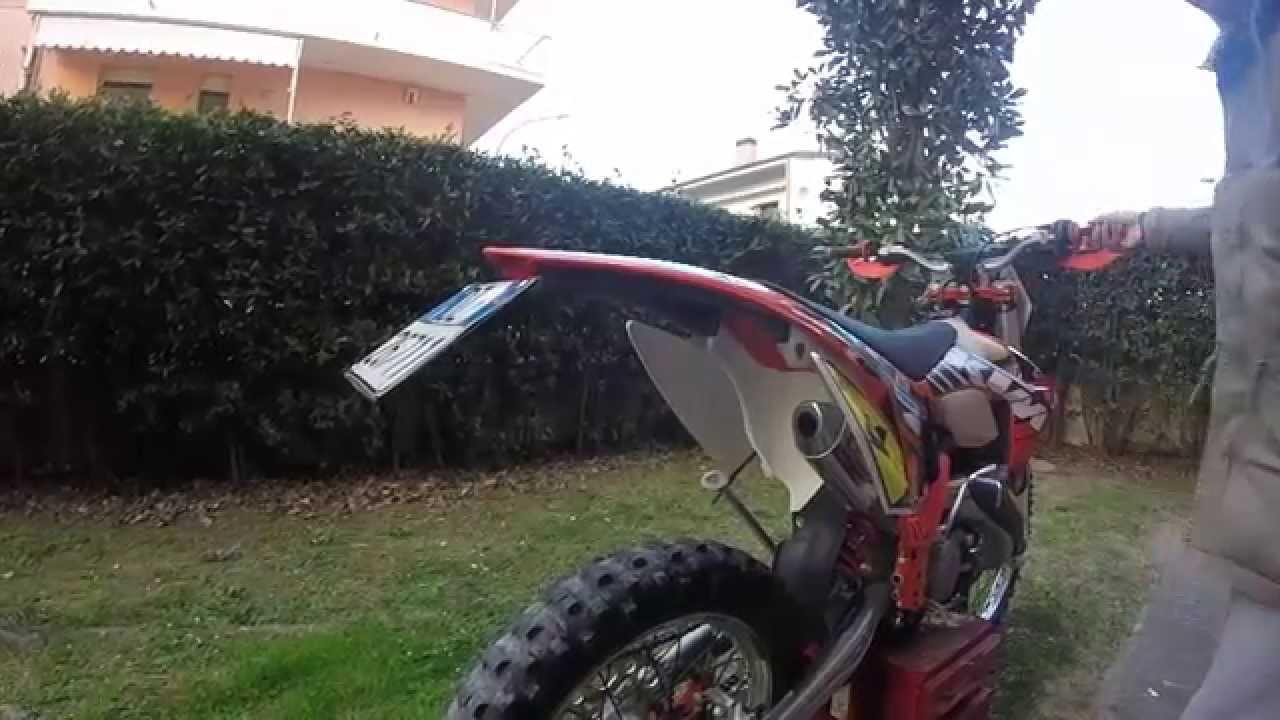 Soundcheck FMF shorty - KTM 125 EXC - YouTube