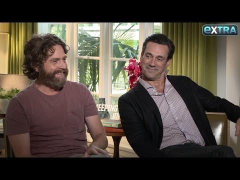 Zach Galifianakis & Jon Hamm Talk Donald Trump, 'Keeping Up with the Joneses'