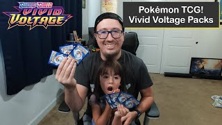 Opening Random Pokémon TCG Vivid Voltage Packs with Erika