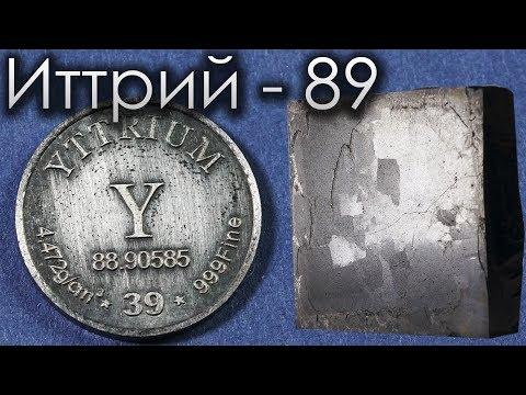 Иттрий - Металл для СВЕРХПРОВОДНИКА!