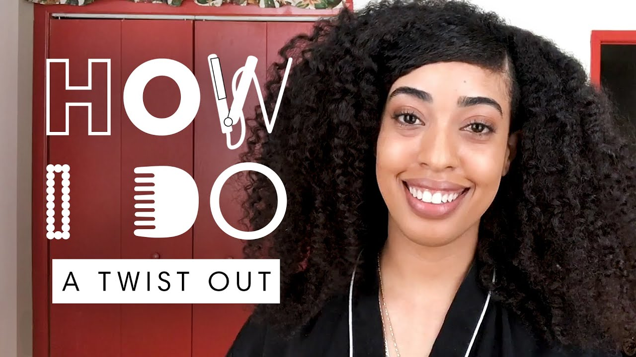 """Largest Afro"" Record Holder Simone Williams' Twist Out Hair Tutorial 