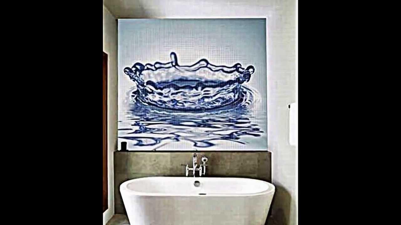 Mosaik Fliesen fr Badezimmer  Einrichtungsideen  YouTube