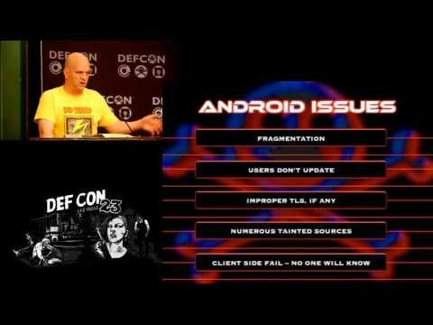 DEF CON 23 - Tony Trummer and Tushar Dalvi - QARK: Android App Exploit and SCA Tool