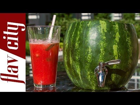 The Watermelon Keg - Fun DIY - FlavCity w/ Bobby