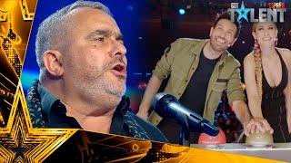 Un celador emocionado por el CORONAVIRUS gana el PASE DE ORO | Audiciones 3 | Got Talent España 2021