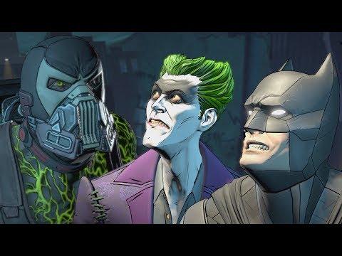 Batman and Vigilante Joker Vs The Agency and Bane - Batman: The Enemy Within