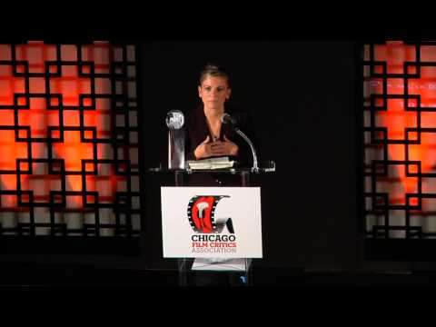 Survivor Kori Cioca Accepts Chicago Film Critics Association Award for The Invisible War