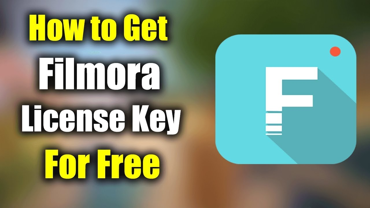 Filmora Registration key 8.3.0 - YouTube