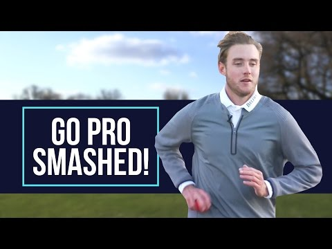 Stuart Broad's GoPro Challenge. Can he smash the camera?