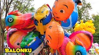 Balita Lucu Beli Balon Karakter | Balonku Ada Lima Lagu Anak Balita Populer