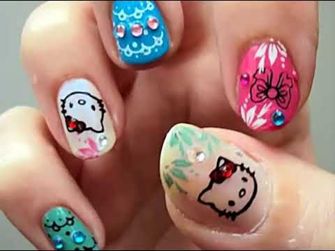 Cute Nail Designs Trends Popular 2014 Youtube