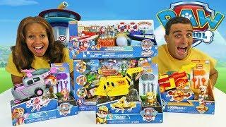 Paw Patrol Toy Challenge ! || Toy Review || Konas2002