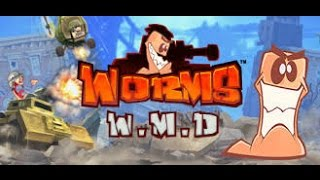 Worms W.M.D. Lets Play 4 (Fox Tunnels) Armageddon Does Nothing