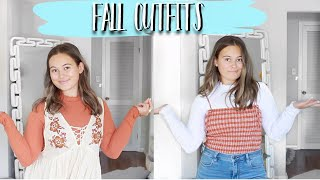 TRANSITIONING SUMMER CLOTHES INTO FALL OUTFITS!!