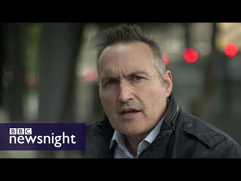 Thumbnail: The rise of Islamist extremism in the UK: Richard Watson reports - BBC Newsnight