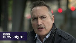 Newsnight's Richard Watson has been following the extremist group a...