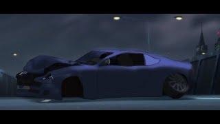 Bruce Wayne's Aston Martin Crashed : Batman Abducted [HD]
