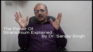 How to Identify Stramonium (dhatura) Patient's & Its Power? Part 1 Explained By Dr. Sanjay (Hindi)