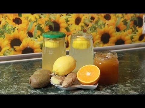 Напиток из имбиря и лимона - напиток для похудения