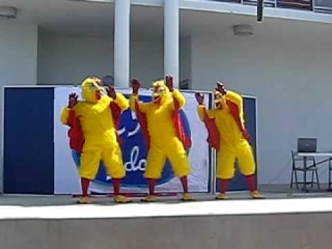 Chicken Dance at Cayman International School