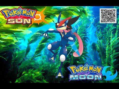 19 QR codes - Pokemon Moon & Sun