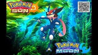 19 QR codes - Pokemon Moon & Sun