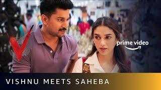 Gambar cover Vishnu Meets Saheba   V   Nani, Aditi Rao Hydari   Amazon Prime Video