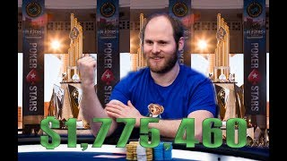 Sam Greenwood: PCA Super High Roller Champion