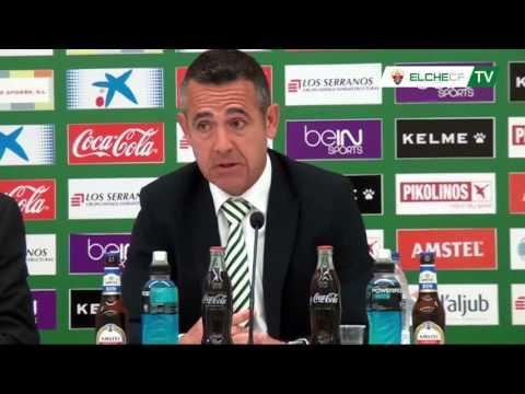 Elche CF Oficial | RP Presentación Diego García Presidente Elche C.F. | 19-04-16