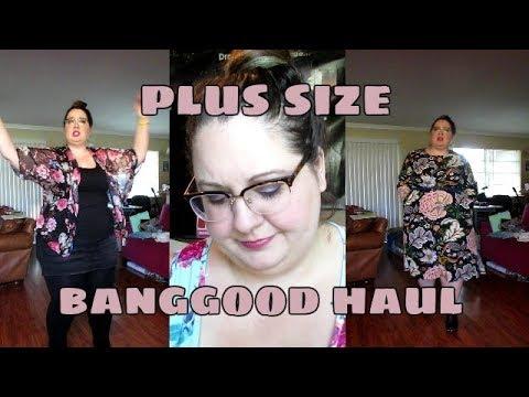df04b3c8b1cd0 Plus Size Banggood Haul - YouTube