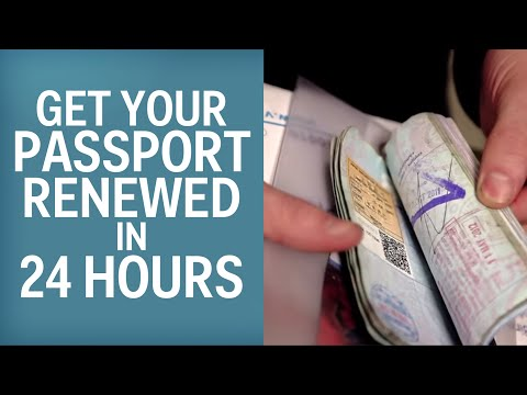 The Only Way To Get Your Passport Renewed In 24 Hours