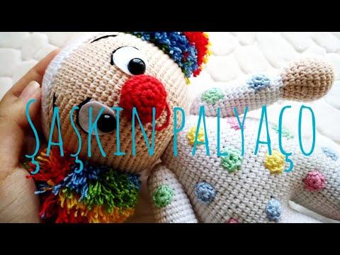 Amigurumi Clown Free Crochet Patterns | Crochet patterns amigurumi ... | 360x480