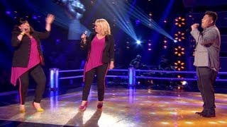 The Voice UK 2013 | Joseph Apostol Vs Diva: Battle Performance - Battle Rounds 3 - BBC One