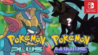 Pokémon Plus And Minus = Pokémon Nintendo Switch 2018?   Sacred