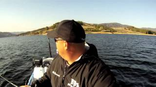 trolling stripers castaic lake bbz style march 13th