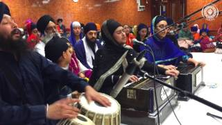 Download Bibi Ishpreet Kaur - mere raam har jan kai ho bal jaaee - Akhand Keertan Smagam Glasgow Jan 2017 MP3 song and Music Video