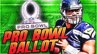 The PERFECT Pro Bowl Ballot || 2020 Pro Bowl Voting -- Midseason