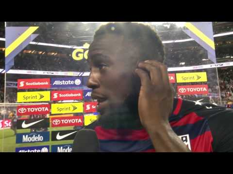 United States vs Jamaica Interviews   Gold Cup 2017