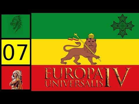 EU4 Rights of Man - Coptic Ethiopia -  Prester John Achievement #7
