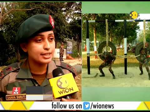 "WION special report on ""women soldiers of Assam Rifles"""