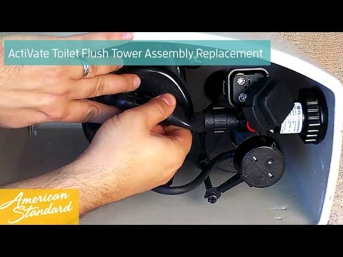 How To Replace The Flush Tower Assembly For Your ActiVate Toilet